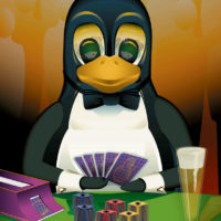 Tux, linux, open source, vector, illustrator, penguin