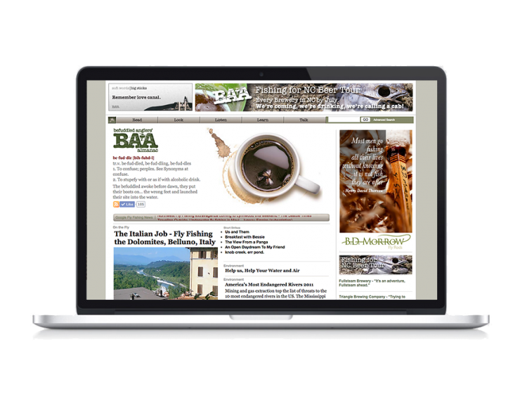 BAA website and online media outlet