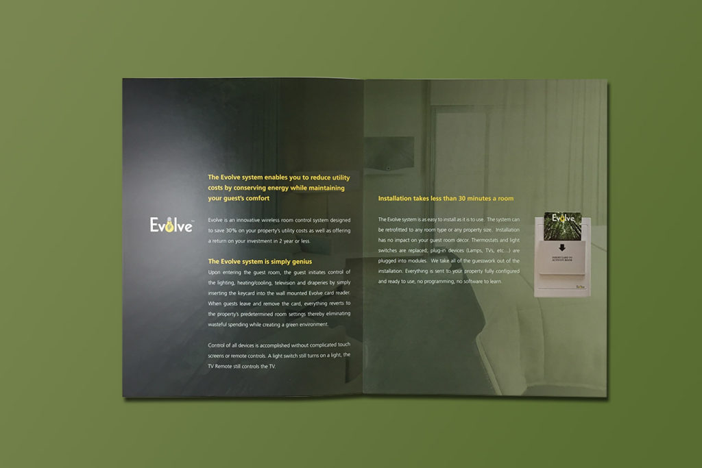 Technology Start-up   Evolve Guest Controls   Electric Bill
